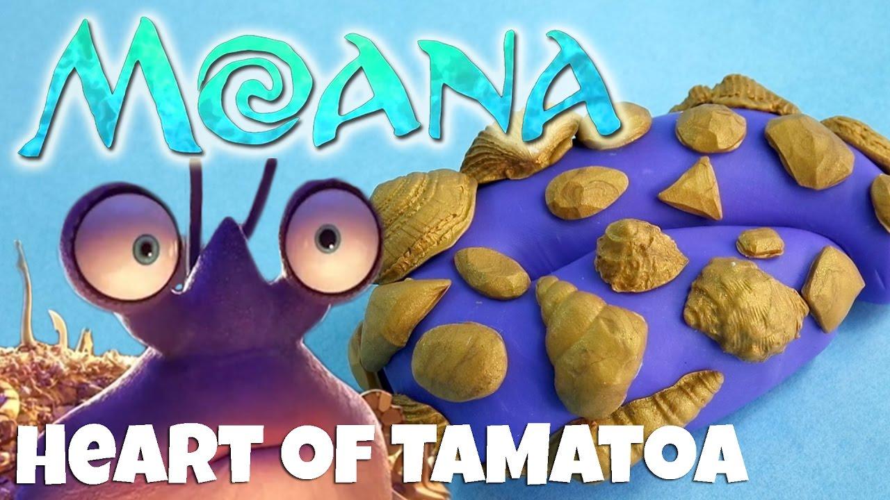 Making The Heart Of Tamatoa Tutorial From Disneys Moana With FIMO
