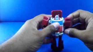 vuclip Revision 158: Transformers Animated Activators Batle Field Bumblebee, Bulkhead, Ratchet