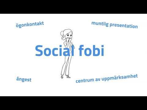 Vad är Social Fobi?