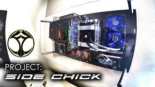 Wall mounted PC - FEROS VM RIGID case