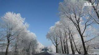 Schnee und Eis verzaubern Schleswig-Holstein