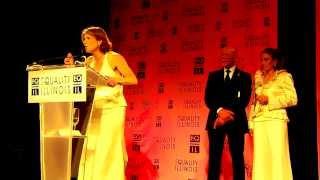 Equality IL gala 2-8-2014: Karen Dixon, Dr. Nan Schaffer and Art Johnston