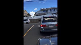 Road Rage in Hawaii Nei