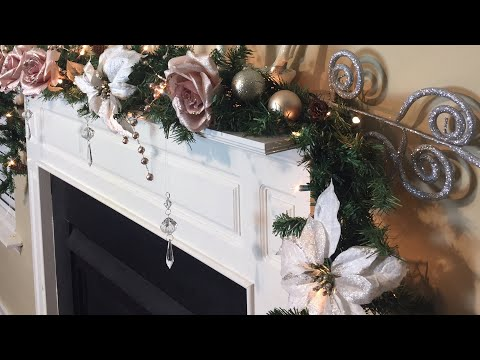 DIY Glam Christmas Garland || Decorate With Me + New Decor Items