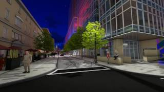 Argyle and Grafton Shared Streetscape Project  - Animated Rendering