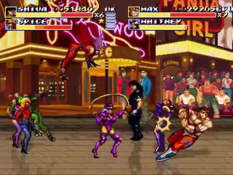 Streets Of Rage Remake V5 Mod HUNTER Las Vegas Nevada(1/2)