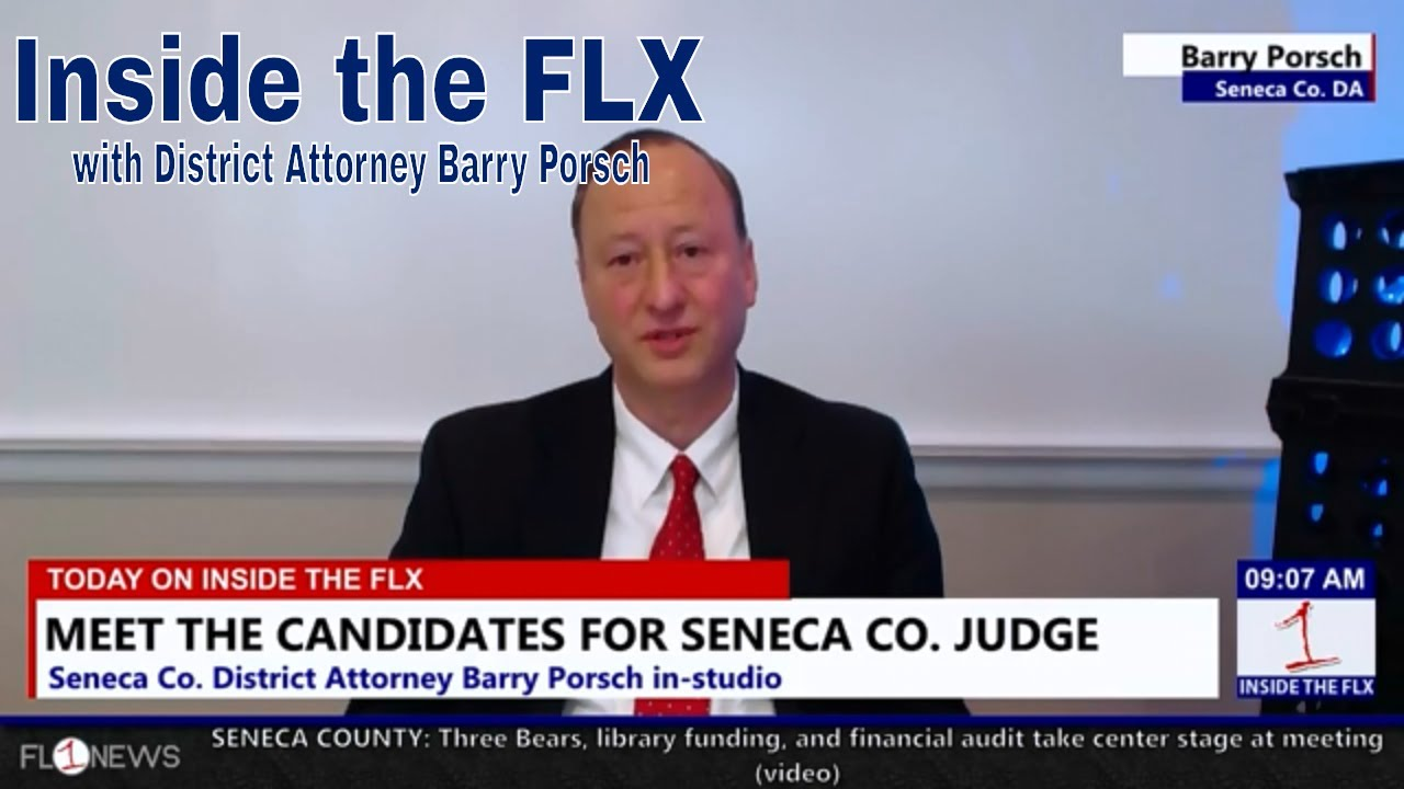 Porsch talks campaign for Seneca Co. Judge .::. Inside the FLX 9/11/18