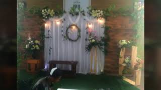 Kumpulan Dekorasi Wedding Model Rustic