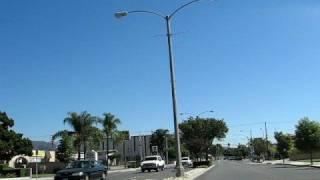 Driving thru Azusa, San Gabriel Valley