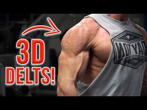 VShred   Full Shoulder Workout with Dumbbells for 3D Delts