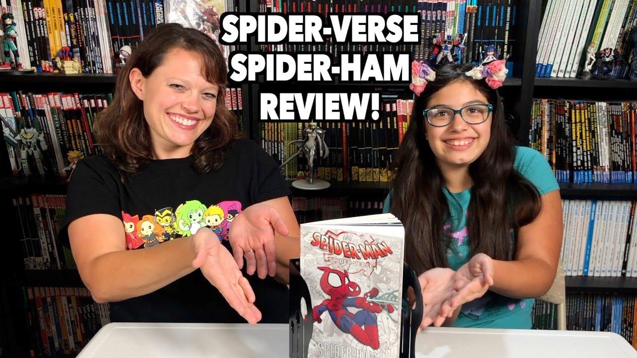 Reviews in a Flash: Spider-Man: Spider-Verse - Spider-Ham