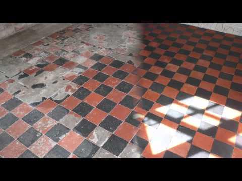 Quarry Tile Restoration Nottinghamshire Youtube