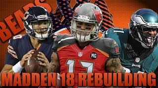 2x Mvp Trubisky? Greatest Catch Ever! Rebuilding the Chicago Bears! | Madden 18 Franchise!