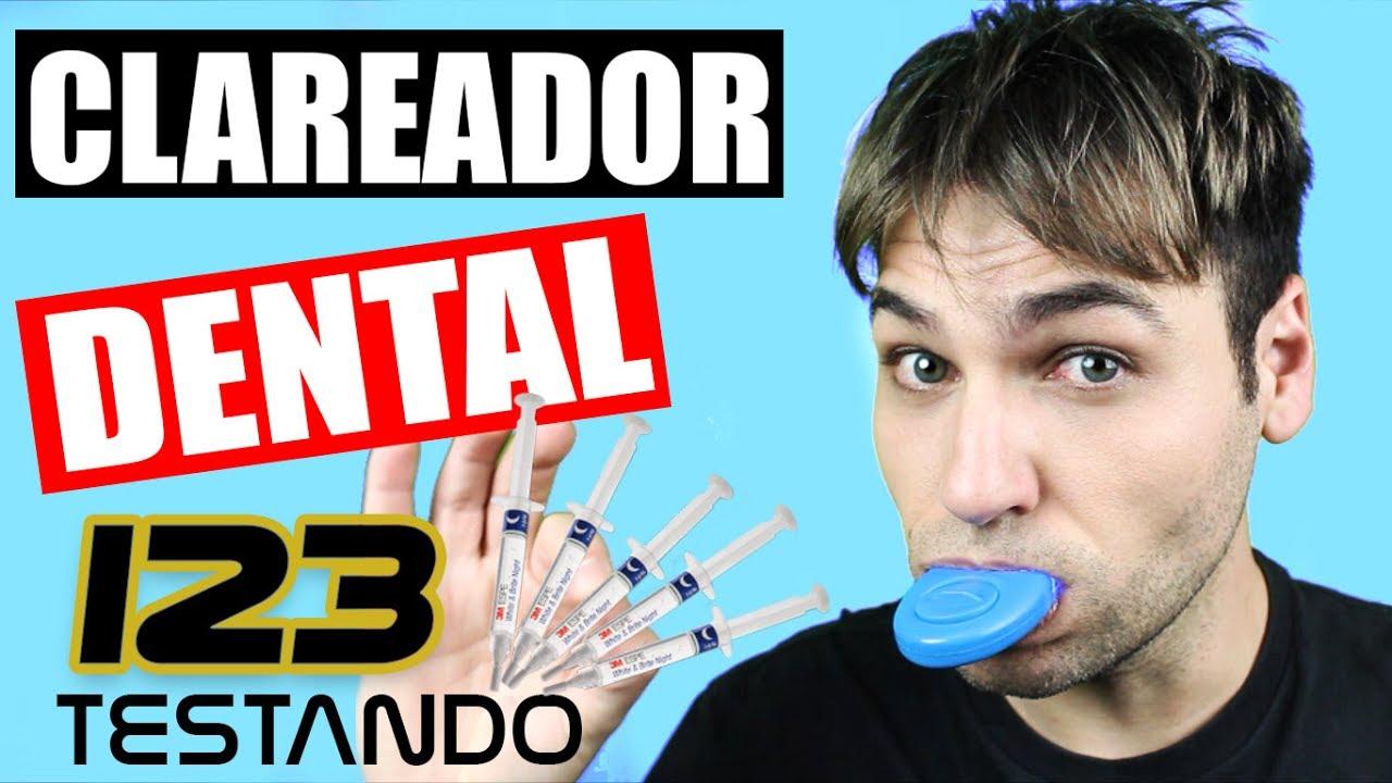 Dentes Brancos Em Casa Testando Kit De Clareamento Dental Youtube