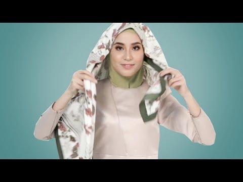 Assalamu'alaikum.. Untuk Teman-Temanku Muslimah, buat kalian yang mau tau cara pakai Niqab dari Hijab Segiempat itu....