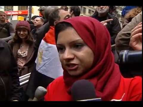 Asmaa Mahfouz at Occupy Wall Street - Zuccotti Park Meets Tahrir Square