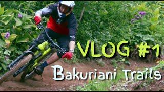 პირველი ვლოგი ბაკურიანის ველობილიკები First VLOG at Bakuriani Trails