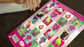 Моя новая шоколадная игра «Тролли»