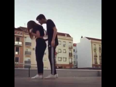 Крутой танец.Шафл