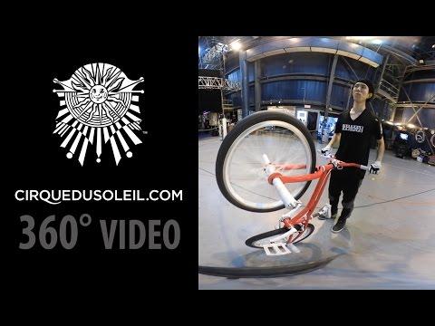 360 Video - VOLTA Artists Training at Cirque du Soleil IHQ