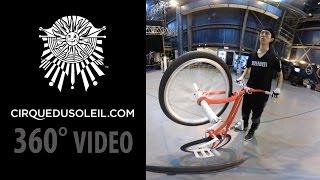 360° Video - VOLTA Artists in Training at Cirque du Soleil IHQ thumbnail