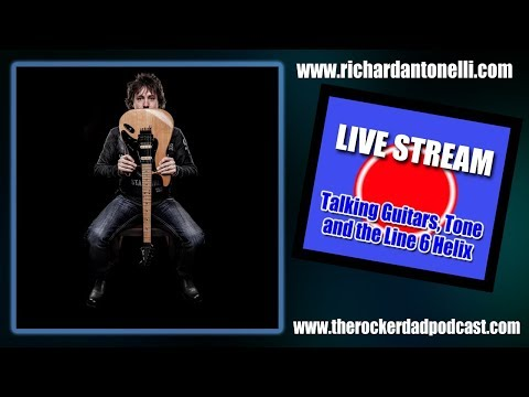 Rich Antonelli Live Stream: Helix with Seymour Duncan Powerstage 170 & 2.3!