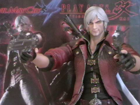 The Devil May Cry 4 Dante From Play Arts Kai Figure Review