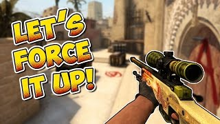 CS:GO - Time to force it up! - Full MatchMaking #10
