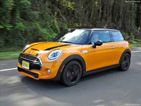 All New 2017 Mini Cooper S Yellow Exterior Part 1