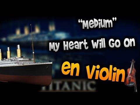 Titanic - My Heart Will Go On en Violín tab,tutorial,partitura,como tocar HD Tutorial