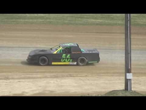 33. Street Stocks at Crystal Motor Speedway Test and Tune, 04-09-17