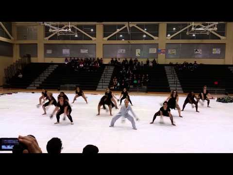 Buhach Colony High School Winterguard at San Mateo 2015