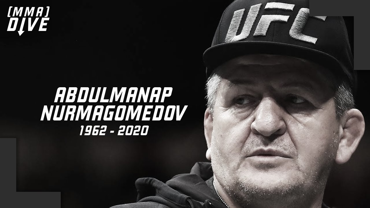 The Passing of Abdulmanap Nurmagomedov...