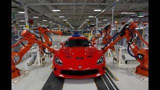 美国工程师参观中国汽车生产线,脸色一下就变了