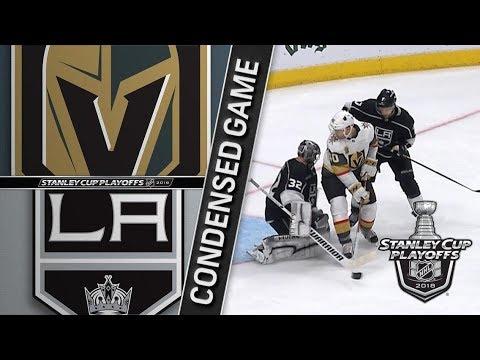 Vegas Golden Knights vs Los Angeles Kings R1, Gm4 apr 17, 2018 HIGHLIGHTS HD