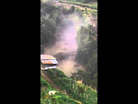 Ranao Sabah Earthquake and Landslides