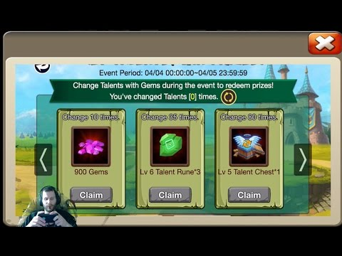 JT's Free 2 Play Leveling Up Lost Realm To 17 + More Castle Clash
