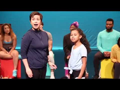 Lea Salonga - The Human Heart - ONCE ON THIS ISLAND Rehearsals