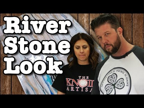 How To Make River Stone With Stone Coat Epoxy Resin