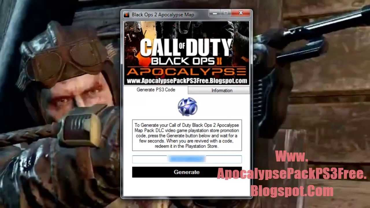 Call of Duty Black Ops 2 Apocalypse Map Pack DLC Game Free