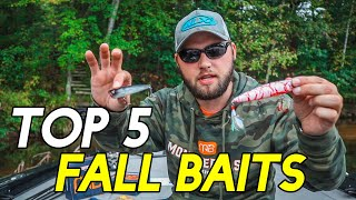5 BEST FALL BASS BAITS Catch More Fish