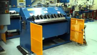 Steelmaster Hull Hydraulic Panbrake Folder Model: SM:FHPB1304STD, 1300mm x 4mm Capacity