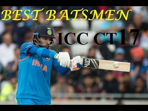 Top 5 Best Batsmen of Champions Trophy 2017