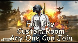 [Hindi] Pubg Mobile Live - Full Day Custom Room - Can We Hit 3.2k Subs Tonight🌪 🌪 😎😎
