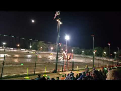 Sycamore Speedway Racing Sept 13, 2019 Compact Combat Fast Heat