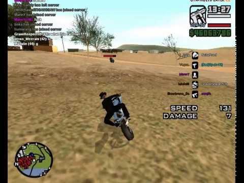 mihai running like noob and /q  GTA-SA