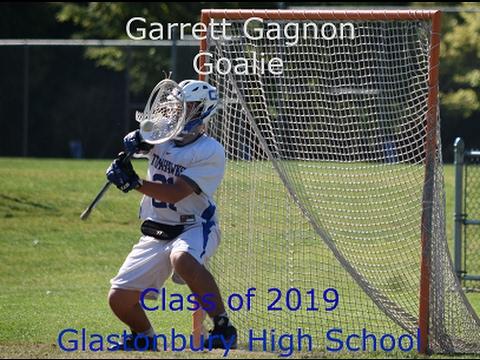 Garrett Gagnon 2019 Goalie STX Rising East Highlight Reel