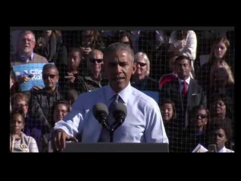 President Obama SLAMS Donald Trump In Ann Arbor Michigan FULL Speech 11/7/16