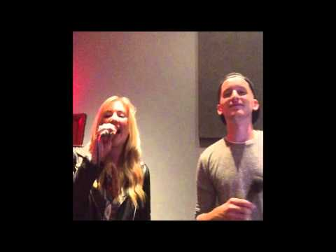Anna Baker & Oliver Thompson - If I Could Build My Whole World Around You (cover)