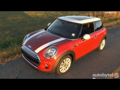 2014 Mini Cooper Hardtop 3 Cylinder Turbo Test Drive Video Review